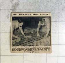 1959 Manchester Town Hall Mosaic Marble, Matt Butcher, Jack Newell