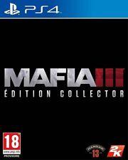 Mafia III 3 Collector PS4 Neuf New !