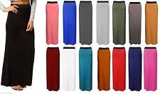 Unbranded Full Length Patternless Casual Skirts for Women