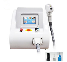1064nm+532nm+1320nm Q Switch 2000MJ ND Yag Laser Tattoo Removal Skin Whiten