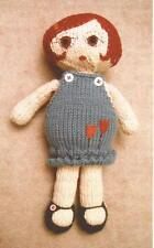 Tulip Doll Knitting Pattern Designed by Katie Park - Pattern Only
