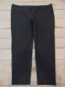 "Eileen Fisher Women's Size 1x Gray Pull on pants High Rise Inseam 25.5"" Pant"