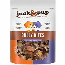 Sale Jack&Pup Premium Grade Odor Free Bully Bites Dog Treats, (2 Lb. Value Pack)