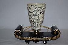 VIntage 1950s Mid Century Modern Table /TV Lamp Retro Shade