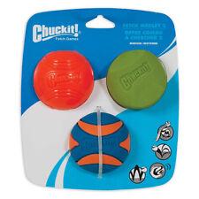 Brand New Chuckit! Fetch 2 Pet Unique Balls Medium Multicolor Dog Toys