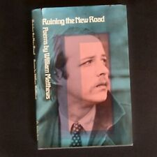 William Matthews Ruining the New Road First Edition 1970 HB Poetry 70's