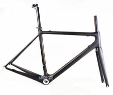 LIGHT 60cm Carbon Road Bicycle Frame Fork BSA Internal Di2 UD Matt Cycling Part
