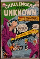 DC Comics CHALLENGERS Of The UNKNOWN #39 VG 4.0