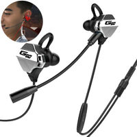 G10 Gaming Headphone In Ear Wired 3.5mm Headsets Stereo Music Earphones With Mic