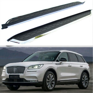 fits for New Lincoln Corsair 2020+ Running Boards Side Step Pedal Protector Bar
