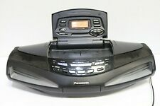 Panasonic RX-ED77 Boombox CD Player Double Cassette Tape Radio - 250