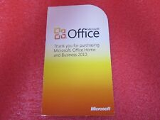 Office 2010 Home & Business Product Key - Authentic, Genuine.