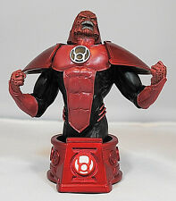 DC DIRECT BLACKEST NIGHT_RED LANTERN ATROCITUS Bust Limited Edition_#421 of 3500