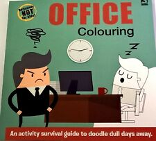 OFFICE COLOURING BOOK: by Harriet Paul