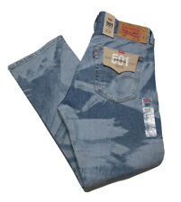 Levis 501 Original Straight Leg Button Fly Stretch Jeans Mens 36x29 NWT