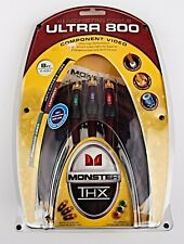 *Monster Cable Ultra 800 THX Component Video 8 ft