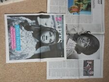 Aretha Franklin -  6 pages from the Times newspaper aug 17th  b
