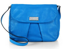 NWT MARC BY MARC JACOBS Marchive Messenger Blue Glow Leather Crossbody Bag Purse