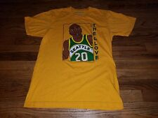 NICE Seattle Supersonics GARY PAYTON The Glove Casual Industrees NBA Shirt Men M