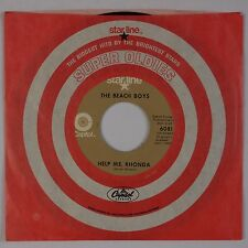 THE BEACH BOYS: Help Me Rhonda / Do You Wanna Dance USA Capitol 45 Surf NM-