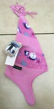 Columbia Kids Toddler Girls Christmas Snowman Swirly Hat BNWT RRP £14.90 Pink