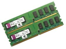 DESKTOP RAM - KINGSTON 4GB (2X2GB) | DDR2 | PC2-6400U | NON ECC | KVR800D2N6/2G