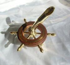 Portapenne nautico con timone porta penne penna scrivania ufficio nautica mare