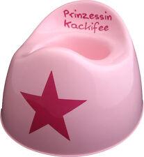 PRINZESSIN KACKIFEE Kindertopf, Babytöpfchen, rosa