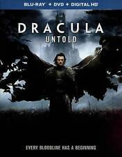 Dracula Untold (Blu-ray Disc, No DVD, 2015)