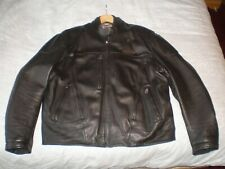 HARLEY DAVIDSON FXRG LEATHER JACKET SIZE XL WATERPROOF GOOD CONDITION