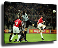 ROY KEANE CANVAS ART PRINT POSTER PHOTO WALL ART MANCHESTER UNITED JUVENTUS 1999