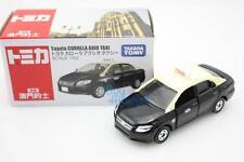 NEW Takara Tomica Tomy Toyota COROLLA AXIO Black Macau Taxi 1/63 Diecast Toy Car