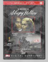 DVD IL MISTERO DI SLEEPY HOLLOW, I GRANDI FILM JOHNNY DEPP