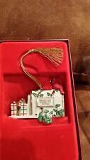 Mib Lenox 2002 Annual Ornament Mailbox With Cardinal From Our House To Yours