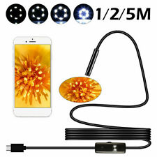 CamTRAX-3 in 1 LED USB Endoscope Otoscope-2mm Wifi Cam Inspection Ear-Android