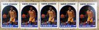 Magic Johnson 1989 NBA Hoops #270 Los Angeles Lakers 5ct Card Lot
