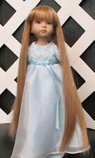 "Doll Wig, Monique ""Slumber"" Size 12/13 in Light Ginger w Golden Blonde"