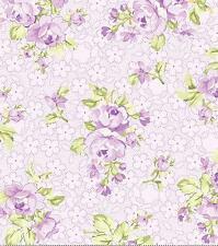 Eleanor Burn Romance Heirloom Lilac Lavender Rose Purple Floral Quilt Fabric