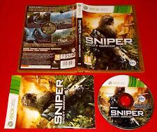 SNIPER GHOST WARRIOR XBOX 360 Versione Ufficiale Italiana 1ª Ed COMPLETO - FG