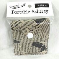 携帯灰皿 Keitaihaizara - Cendrier de poche japonais - Pocket Newspaper