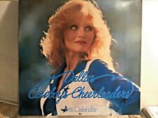 1981 Dallas cowboys cheerleaders calendar With signed postcards included