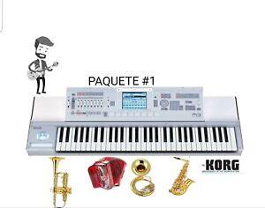 KORG M3 samples paquete de 24 sonidos