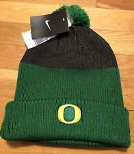 Nike Oregon Ducks Winter Hat Nwt Osfm Adult Beanie