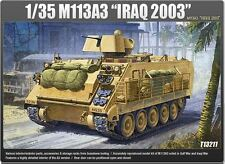 Academy 1/35 M113A3 IRAQ 2003 Tank Armor Plastic Model Kit Military Gift 13211