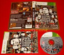 SLEEPING DOGS XBOX 360 Versione Ufficiale Italiana 1ª Edizione ○ COMPLETO - FZ
