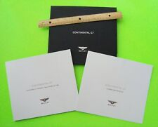 2003 BENTLEY CONTINENTAL GT SPORT COUPE PRESTIGE DBL CATALOG Brochures BOX Xlnt+