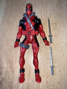 "Marvel Legends Deadpool Classic 90's X-Men 6"" Redpool Figure BAF Sasquatch"
