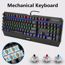 NEW Backlit Computer Keyboard with LED Light-Up Keys for Gaming Professional WF