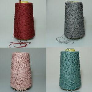 (1,95€/100gr) Wolle Kone Stricken Garn Strickwolle grau grün rosa rot /i30