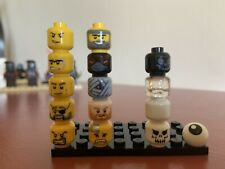 Assorted Lego Heads Some Reversible